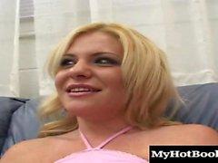 Little golden haired Sara was a suburban slut even as a...