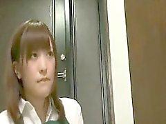 Сексуальная стройная японский Милая Takes A ботаны парню жесткую член Г