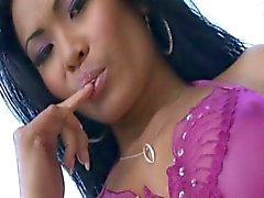 Thaise Priva geniet DP en sperma