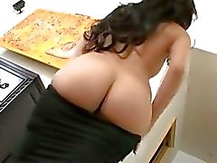 Gorgeous brunette Alexa Nicole mouths a member before bending over for a bashing