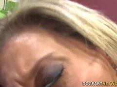 Busty Cougar Sara Jay Fucks Black Cock