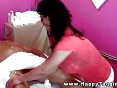 Oriental big tited masseuse
