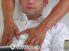 Blue eyed stud Chad fucks on porn casting audition