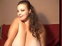 BBW Teasing with her Enormous Tits
