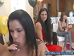 Cfnm party sluts sucking cock