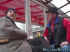 Hollandalı prossie cum alır