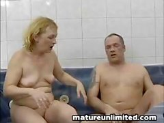 This horny mom will do anything to get that cock in her box