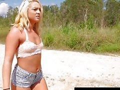 HelplessTeens Keely Jones hitchhike sex