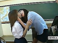 Titelt Japanische Schullehrer Lehrer küssen Interviews
