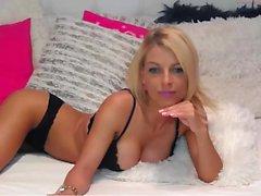 Busty Blonde loves big dick