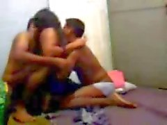 3some with desi prostitute