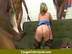 Cougar fucks a huge black monster cock 6