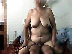 Venäläisen mummo Salaisella tasolla Kuvattu Vitun