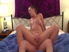 FIRST TIME ANAL Amber Chase