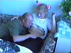 STP5 Daughter Calms Down And Gives Dad His Fuck !
