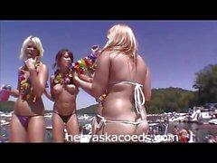 Naked Boat Party Bash
