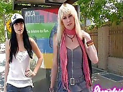 Bailey Jay hooks up with Bee Armitage