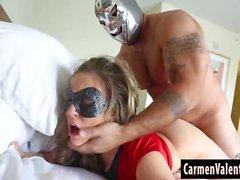 Cosplay Slut Carmen Valentina Gets a Hard Fuck!