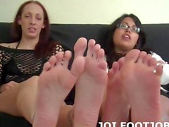 Some men love to suck toes