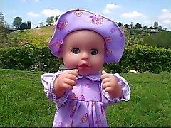 Sarışın bebek bakıcısı sert çarptım
