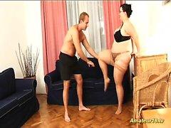 sesso contorsione con flessibile moglie BBW