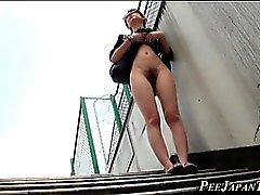 Fetish asians urinate