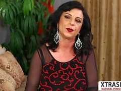 Old Aunty Elektra Lamour Ride cock Well Young Step son