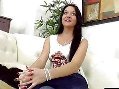 Russian Teen Jenna Carlton has an Anal Casting