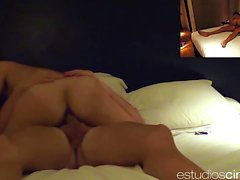 Horny Eva Reina gets deep penetrated by her hubby