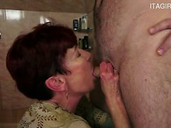 Horny gf awesome blowjob