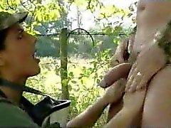 Army girl Karen Lancaume