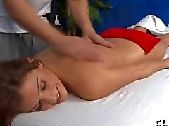 Sexy and horny 18 year old slut loves to be massaged