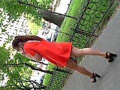 fancy dressed girl