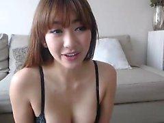 Asiatiska stora bröst sportig gal
