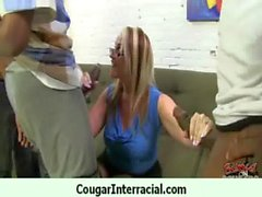 Cougar With Huge Tits Fucked By a Young Black Teen 3