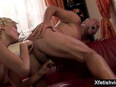 Hot pornstar fetish with massage