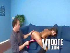 Cassidy Morgan New Chick Cums First