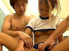 Asian schoolgirl likes being screwed hard