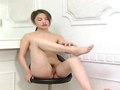 Egentligen sweet orientalisk kvinna från porslin