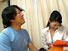 Japanese gal Ryo Sasaki loves being drilled