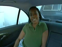 Black Whore Gets Fucked in the Car