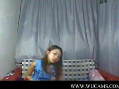 Asian teen stripping on webcam BY SCRYU