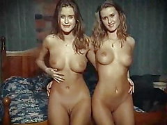 CHEEKY TWINS - Russian glamour beauties tease