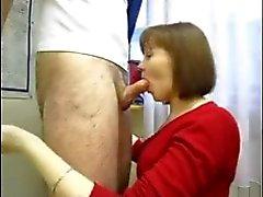 good blowjob mature russian