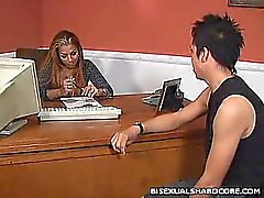 Bisexual Office Sex
