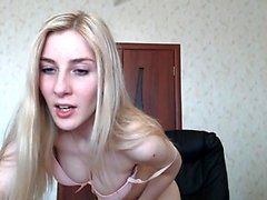 Blonde Amateur Webcam Striptease