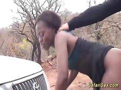 wild african jeep sex safari