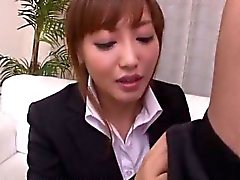 Mami Asakura office adventure with her boss