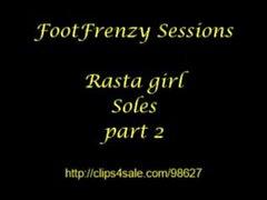 Foot fétiche tease compilation w / awesome message psa @ la fin