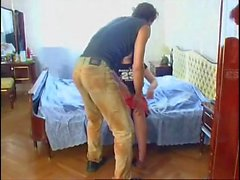 Russian Mature fuck on the bed
